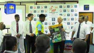 Launch of the Prima Champions Cup 2019