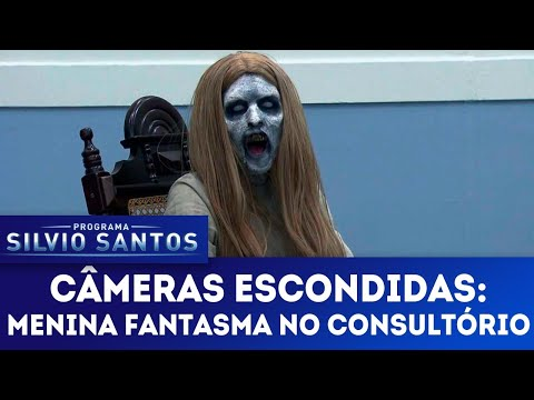 Menina Fantasma no Consultório - Ghost Girl at the clinic | Câmeras Escondidas (13/05/18)