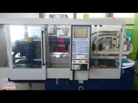 used injection moulding machine KRAUSS MAFFEI KM 40-125 C MC4