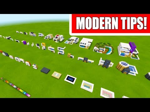 Minecraft Tutorial: Modern House Building Tips