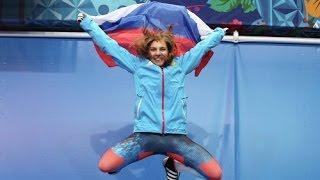 Россиянка Елена Никитина на соревнованиях по скелетону завоевала бронзу!