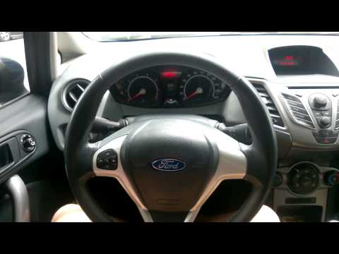Ford Fiesta 2010 interior overview
