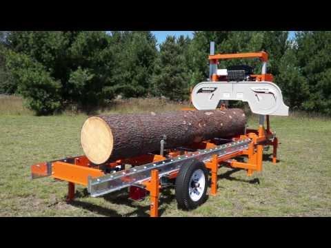 Norwood LumberMate LM29 Portable Band Sawmill