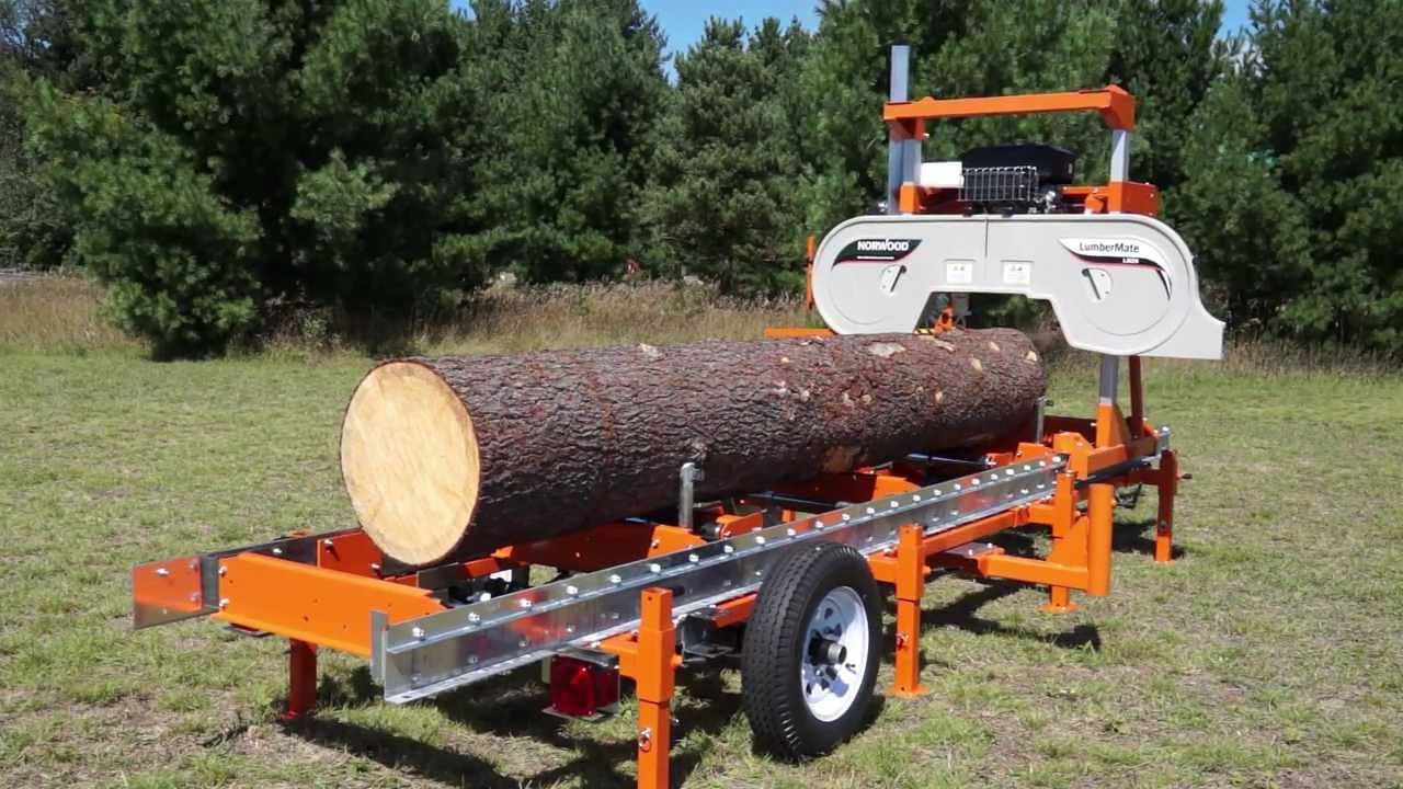 Used Sawmills For Sale >> Norwood Lumbermate Lm29 Portable Band Sawmill