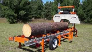 Norwood LumberMate LM29 Portable Band Sawmill