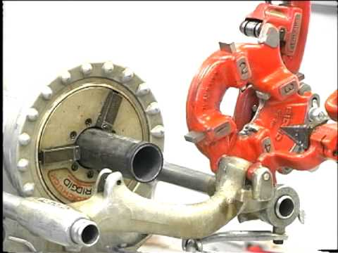 RIDGID 300 Power Drive Instructional Video
