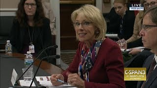 Rep. Katherine Clark and Secretary Betsy DeVos had an exchange on discrimination 10 months ago. (Watch it here: https://youtu.be/DtNSQmZy7B4) Watch ...