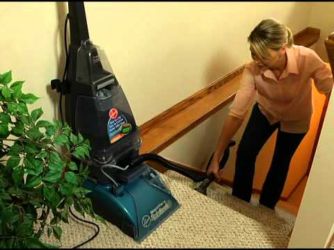 Hoover Steamvac Cleaning Upholstery Carpeted Stairs F5912900 F5914900 F5918900 Fh50047