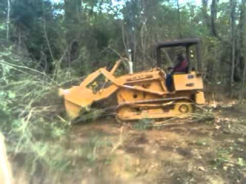 Case 450 Dozer Crawler Loader With 4 In 1 Drott Bucket