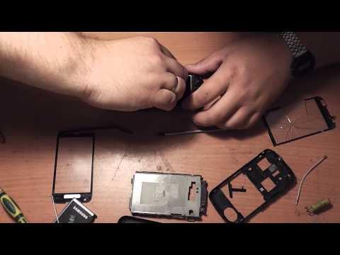 Замена тачскрина на телефоне Samsung GT-I8000 - Обзор