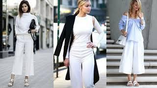 Белыйtotallook модные тенденции2021 МОДНАЯ БЕЛАЯ ОДЕЖДА МОДНАЯ СТИЛЬНАЯ