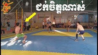 [Set 3] Cambodia Volleyball គូសងសឹក ស៊ិចកាត់សេចក្តី ជក់ចិត្ត ស្មាត់ហា ប៉ះ ផានិត 13 Jan 2019