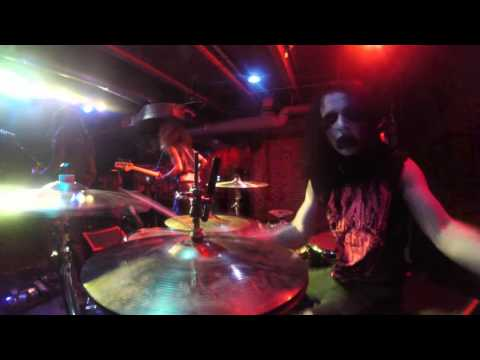 My Hell - Attraction To Tragedy - Izzy Scott Drum Cam - Providence Rhode Island - 3-31-16