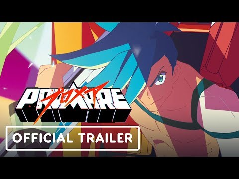Promare - Official Movie Trailer (English Sub)