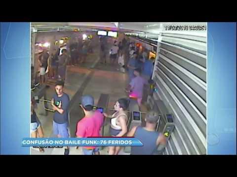 Tiroteio em baile funk deixa 76 pessoas feridas