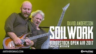 Bloodstock Open Air 2017: Interview with David Andersson of Soilwork