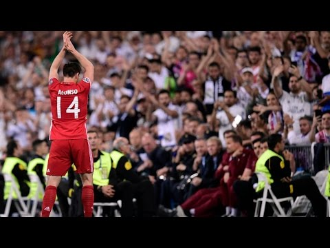 La ovación del Bernabéu a Xabi Alonso | Real Madrid 4-2 Bayern Múnich (6-3)