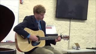Skyfall Arrangment (Fingerstyle Guitar) Senior Recital