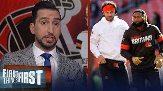 Baker Mayfield & Odell Beckham Jr are set for a Browns bounce back — Nick | NFL | FIRST THINGS FIRST