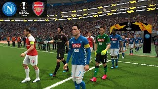 Napoli vs Arsenal - Europa League 18 April 2019 Gameplay