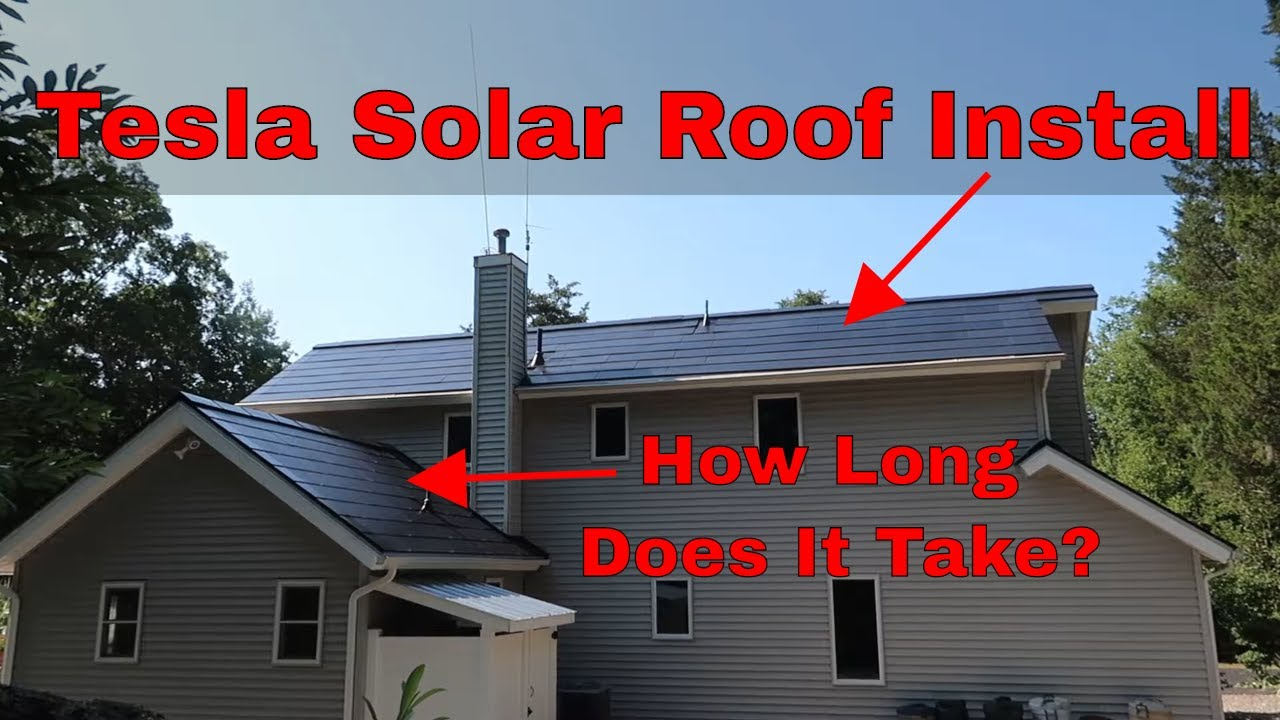 How Long Does A Tesla Solar Roof V3 Take To Install ...
