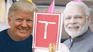 PewDiePie - Congratulations (Cover by Donald Trump &amp Narendra Modi)