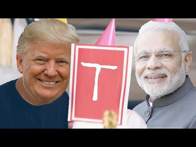 PewDiePie - Congratulations (Cover by Donald Trump & Narendra Modi)