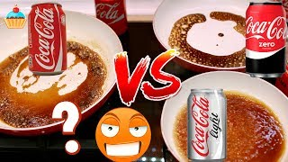 СРАВНИВАЕМ COCA COLA ORIGINAL vs ZERO vs LIGHT  Эксперимент