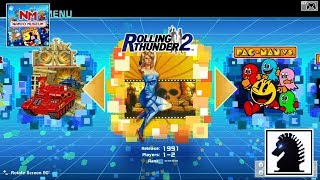 NS Namco Museum - Rolling Thunder 2
