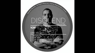 Yow - One Velo (Original Mix)