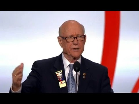 Sen. Pat Roberts Kansas. Speech at Republican National Convention. July 18, 2016.