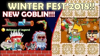 BUYING ALL NEW ITEMS + SNOWFLAKE WING + GROWCH!! OMG!! | GrowTopia