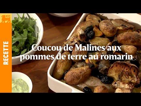Coucou de Malines aux pommes de terre romarin