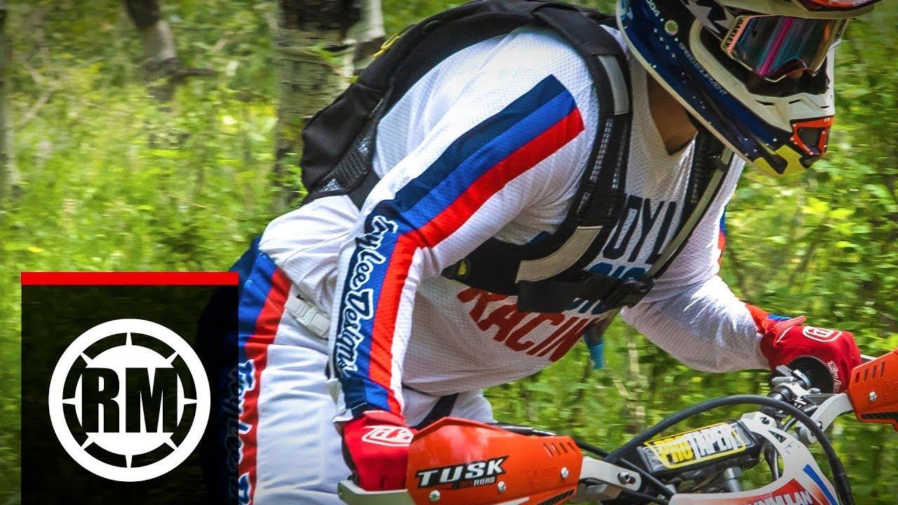 Motocross Troy Lee Designs 2020 GP Air Saddleback Jersey Cyan Black