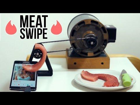 Tinder Meat Swipe Youtube