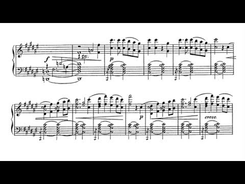 1812 Festival Overture, Op. 49, in E flat major - Tchaikovsky (Arrangement Score)