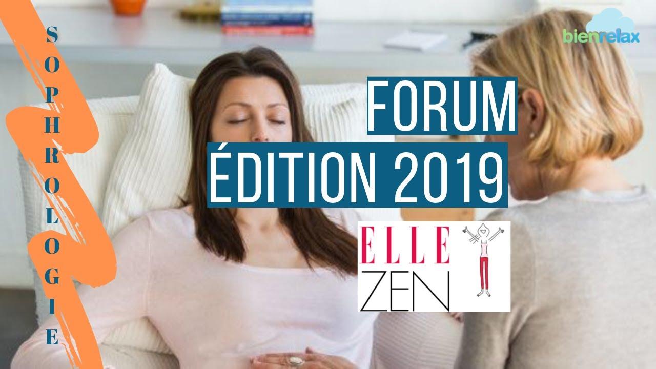 Sophrologie au forum ELLE Zen 2019 avec les sophrologues du réseau Bienrelax