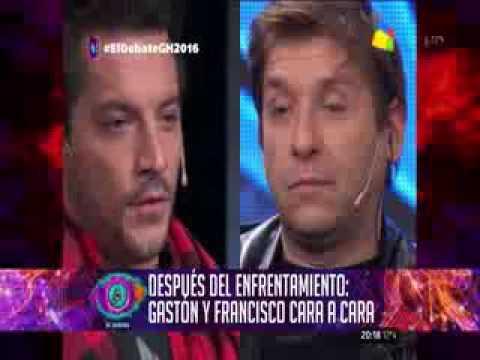 Francisco Delgado y Gastón Trezeguet volvieron a verse las caras tras el feroz cruce