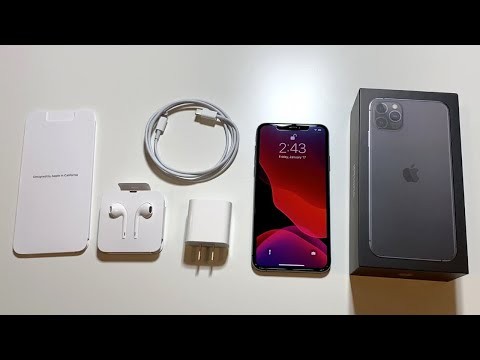 IPhone 11 Pro Max Unboxing: Space Grey!