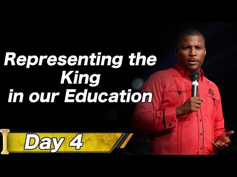 Pastor Gregory Toussaint I 7 Nights of Dominion I Representing the King in our Education I TG