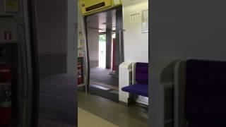 JR北海道731系電車ドア開閉シーン