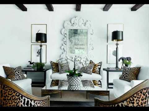 Animal Print Living Room Ideas