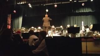 Wind Ensemble, Holiday concert, December 8, 2016