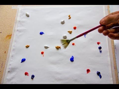 Как нарисовать картину Звездная вселенная | Арт Терапия | УРОКИ РИСОВАНИЯ. Мастер класс. Time Lapse