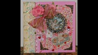 Deluxe Lush Romantic Valentine Photo/Memory Mini Album