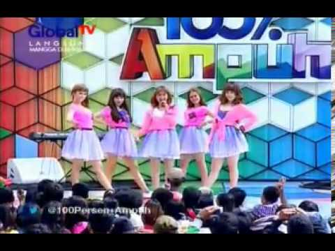 BE5T - Baby I Love You @ 100%Ampuh - 04.02.2013