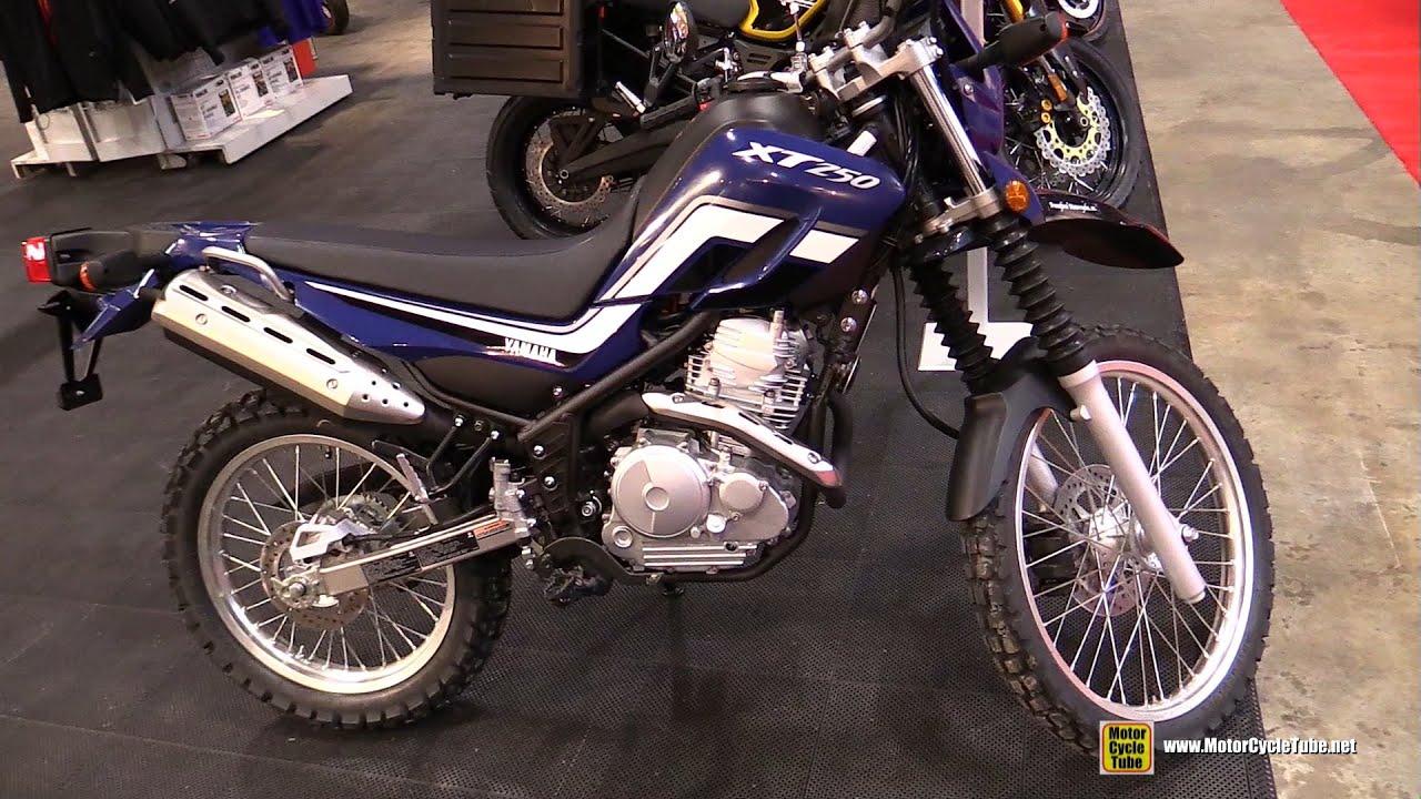 2016 Yamaha Xt250 Walkaround Toronto Motorcycle Show