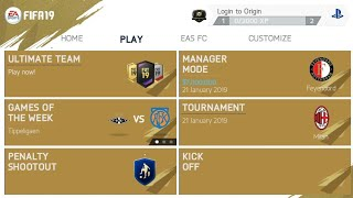 FIFA 14 MOD FIFA 19 GOLD OFFLINE APK DATA & OBB 900MB Best Graphics, Fix Tournament & Manager Mode