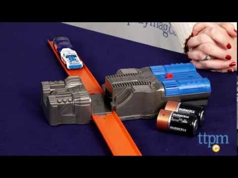 Hot Wheels Track Builder 2-Speed Power Booster from Mattel