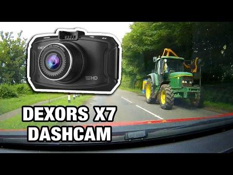 Dexors X7 Dashcam Unboxing Review 1296p